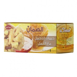 al suman grains ginger with honey 20 pieces 200 g