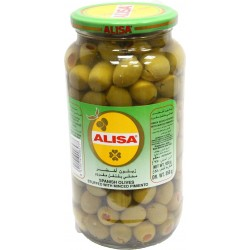 alisa green olives stuffed with minced pimiento 920 g
