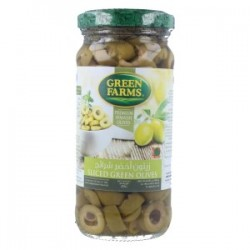 green farms sliced green olives 235 g