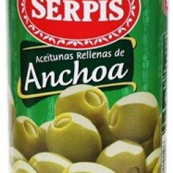 serpis olives stuffed with anchovies 350 g