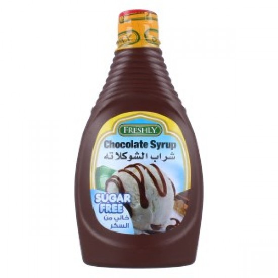 freshly  chocolate syrup suger free 624 g