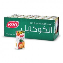 kdd cocktail fruit drink 24 pieces × 180 ml